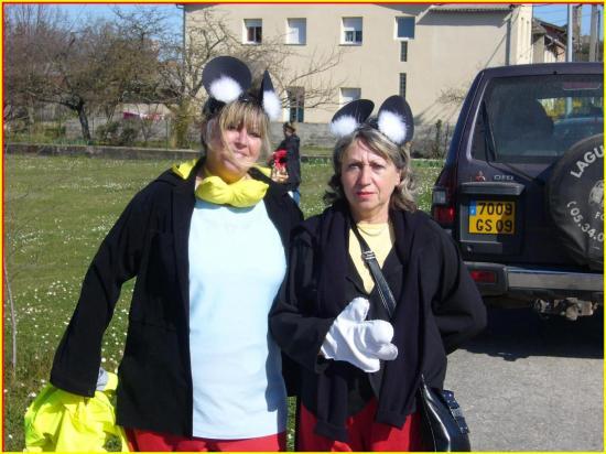 Pierrette et Michèle pour le Comité des festivités