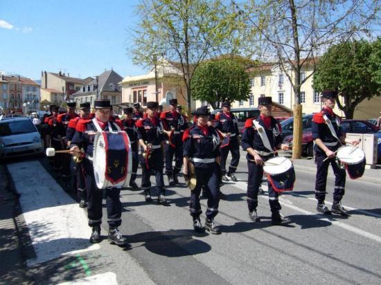 LAVELANET08: Défilé des fanfares 09