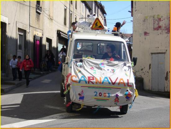 Le transport de M. Carnaval