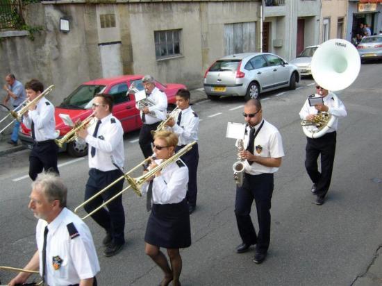 LAVELANET08: Défilé des fanfares 21