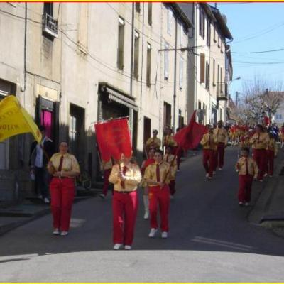 Carnaval 2009 à Laroque d'Olmes