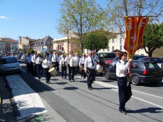 LAVELANET08: Défilé des fanfares 08