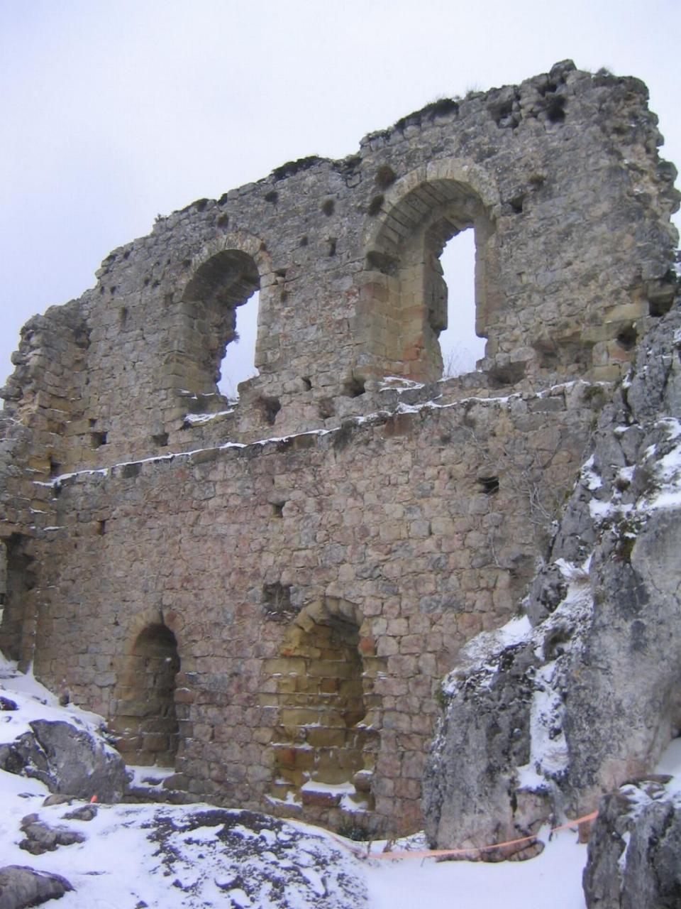 ROQUEFIXADE - Château 1