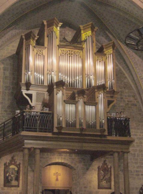 LAROQUE - Orgue de l'église