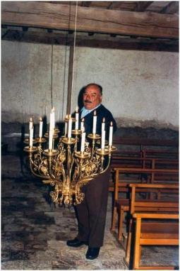 LAROQUE - Eclairage chapelle St-Roch