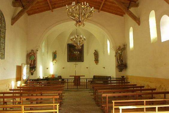LAROQUE - Intérieur Saint Roch