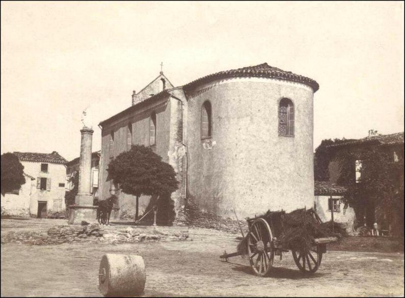 Chapelle d'Aigues-Vives en 1898