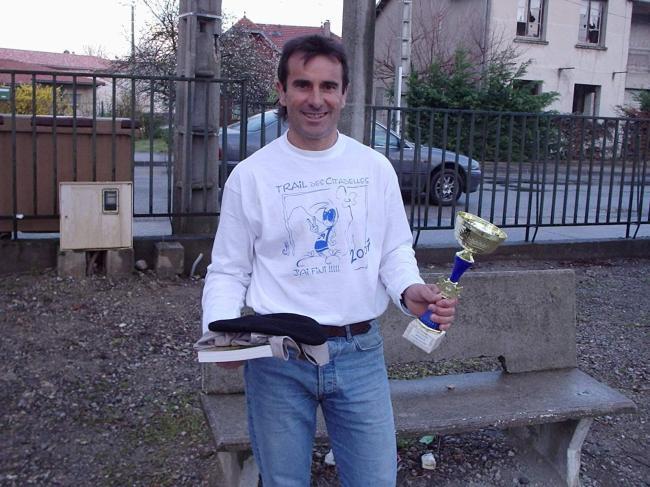 LAROQUE - Champion Ultra-marathon