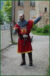 L'animateur du château, sire Gilles