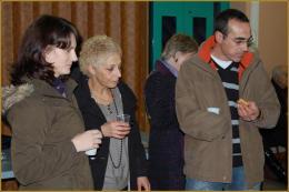 Carole Bautista (31), Louisa Khaldoum (09), Carlos Da Fonseca (31)