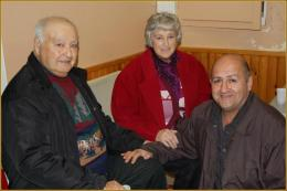 Tonton Angel et tantine Pierrette (les laroquais) avec Raymond