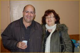 Raymond Bautista et Josette Bénaiem (frère et soeur)