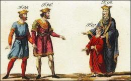 F95: Lothaire  // F96: Louis V  // F97: Otto, fils d'Emma //  F98: Emma, femme de Lothaire