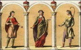 F111, 112 er 113: Nobles Normand, tunique, manteau, bottes