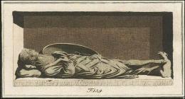 F139: Templier avec cotte de mailles et surtout militaire. Ce monument se trouve dans l'église des Templiers à Londres