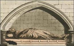 Noble Normand et sa cotte d'armes... Ce monument se trouve dans l'église de Danbury, dans le comté d'Essex