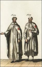 F173 et 174: Costumes des Templiers dans leurs maisons