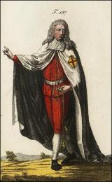 F187: Chevalier de l'ordre d'Alcantara, en habit de cérémonie