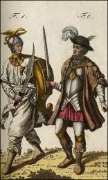 f1: Chevalier de l'ordre de St. Catherine  //  f2: Chevalier de l'ordre de l'Epée