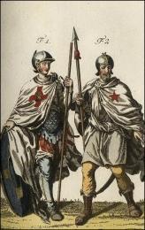 f1: Chevalier de l'ordre de St. Blaise  //  f2: Chevalier de l'ordre de Montjoie