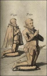 F190 et 191: Manière de placer les chevaliers dans la tombe