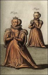 F192 et 193: Manière de placer les chevaliers dans la tombe