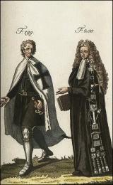 F199: Chevalier de l'ordre Teutonique  //  F200: Costumes des chevaliers de Malte, pour faire les voeux