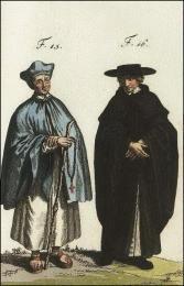 F15: Ancien chanoine séculier de la congrégation de S. Georges in Algha, à Venise  //  F16: Chanoine séculier de la congrégation de S. Jean l'Evangéliste, en Portugal