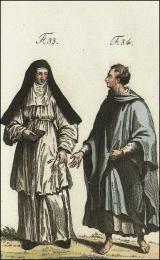 F33: Religieuse hospitalière de Loche  //  F34: Religieux de Fonte-Avellana de la stricte observance