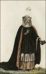 F35: Bénédictine de Bourbourg, en habits de choeur