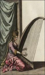F52: Harpe en usage par les juifs, domiciliés en Turquie