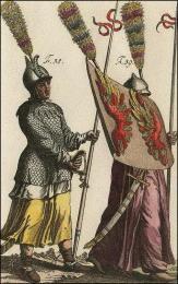 F58 et 59: Lance des Turcs, casque, cotte de mailles