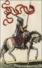 F60: Guerrier Turc à cheval