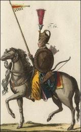 F64: Guerrier Turc à cheval
